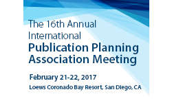 16th Annual International Publication Planning Meeting 2017