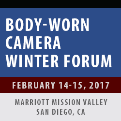 Body-Worn Camera Winter Forum 2017