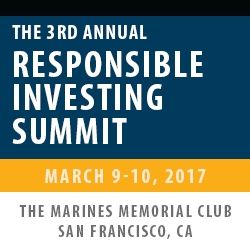 The 3rd Annual Responsible Investing Summit 2017