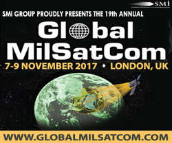 19th annual Global MilSatCom 2017