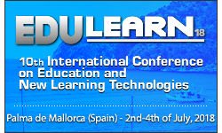 EDULEARN18 - The 10th annual International Conference on Education and New Learning Technologies 2018