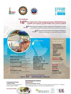 16th Pan Arab Union of Neurological Societies (PAUNS) Meeting 2018