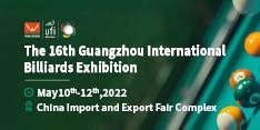 16th China Guangzhou International Billiards Exhibition (GBE 2022)