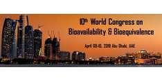 10th World Congress on Bioavailability & Bioequivalence 2019