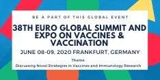 38th Euro Global Summit and Expo on Vaccines & Vaccination