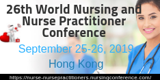 26th World Congress on Nurse and Nurse Practitioners 2019