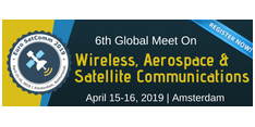6th Global Meet on Wireless, Aerospace & Satellite Communications 2019