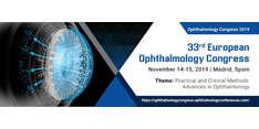 33rd European Ophthalmology Congress 2019