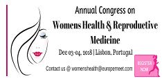 Annual congress on Womens Health & Reproductive Medicine 2018