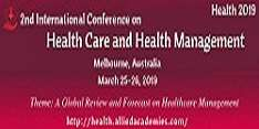 3rd International Conference on Health Care and Health Management 2019