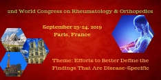 2nd World Congress on Rheumatology & Orthopedics 2019