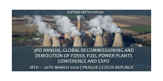 3rd Annual Europe`s Decommissioning and Demolition of Conventional Power Plants Conference 2020