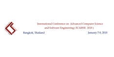International Conference on Advanced in Computer Science and Software Engineering ( ICACEES 2019 )