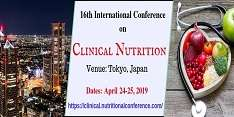 16th International Conference on Clinical Nutrition 2019