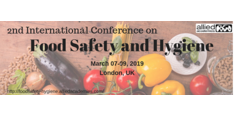 2nd International Conference on Food Safety and Hygiene 2019