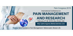 International Conference on Pain Management and Research 2019