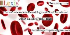 Union Conference on Hematology and Blood Transfusion 2019