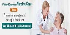 47th World Congress on Nursing care 2019