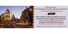 Global Summit on Neurodegenerative Diseases: Biology & Therapeutics 2019