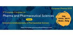 3rd European Congress on Pharma and Pharmaceutical Sciences 2019
