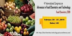 4th International Congress on Advances in Food Chemistry and Technology 2019