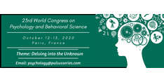 23rd World Congress on Psychology and Behavioral Science 2020