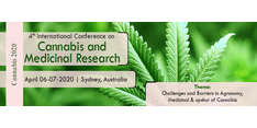4th International Conference on Cannabis and Medicinal Research 2020