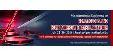 4th International Conference on Hematology and Bone Marrow Transplantation 2019