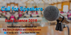 International Conference on Big Data Analytics and Data Science 2019