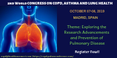 2nd World Congress on COPD, Asthma and Lung Health 2019