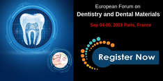 European Forum on Dentistry and Dental Materials 2019