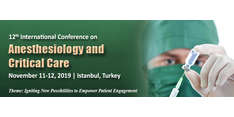 12th International Conference on Anesthesiology and Critical Care 2019
