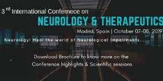 World Congress on Neurology & Therapeutics 2019