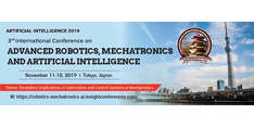 3rd International Conference on Advanced Robotics, Mechatronics and Artificial Intelligence 2019