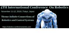 4th International Conference On Robotics 2019