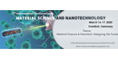 8th International Conference on Material Science and Nanotechnology