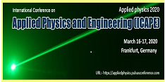 International Conference on Applied Physics and Engineering (ICAPE)