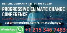Progressive Climate Change Conference (PCCC 2020)