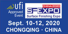 SF EXPO CHINA 2020- International (Chongqing) Surface Finishing, Electroplating and Coating Exhibition
