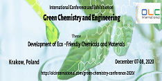 International Conference and Exhibition on Green Chemistry and Engineering (OLCGCE 2020)
