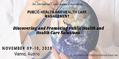 3rd International Conference and Exhibition on Public Health and Health Care Management (OLCPHHM 2020)