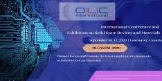 International Conference and Exhibition on Solid State Devices and Materials