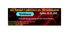 3rd Annual Conference on Hematologists
