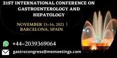 21st International Conference on Gastroenterology and Hepatology