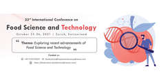 33rd International Conference on Food Science and Technology